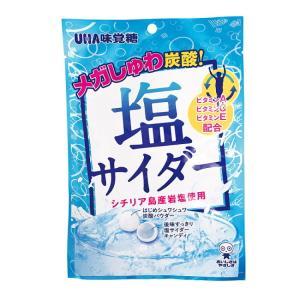 熱中飴 味覚糖 塩サイダー 約25粒1袋×5袋入(HO-267)熱中症対策/塩/タブレット