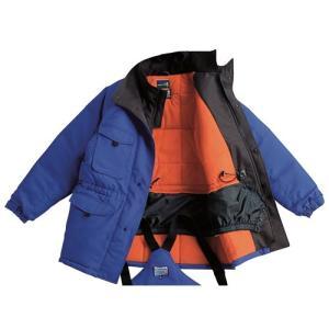 防寒着 -60度対応冷凍倉庫用防寒コート BO8000 作業着/防寒対策/サンエス 送料無料|trans-style