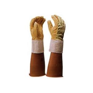 保護革手袋(甲部 メッシュ付)耐電/電気作業 ヨツギ|trans-style