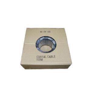 TVアンテナ用同軸ケーブル 3C−2V−100 黒色(中国製) transaudio