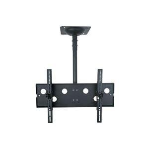 37〜60型 大型液晶/プラズマテレビ用天吊り金具(黒) CPLB101M−PRO65B|transaudio