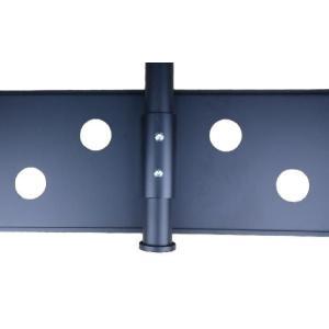 37〜60型 大型液晶/プラズマテレビ用天吊り金具(黒) CPLB101M−PRO65B|transaudio|05