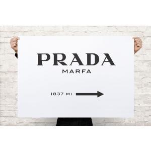 PRADA プラダ MARFA ゴシップガール キャンバス アート