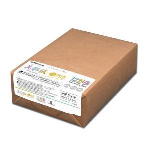 長門屋商店 美彩紙 はがきサイズ 自然色(ナチュラルホワイト) 200枚包 ナ-989