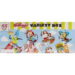 ケロッグ シリアル バラエティボックス 4種 合計20パック コストコ フロスティ チョコワ チョコクリスピー コーンフレークの画像