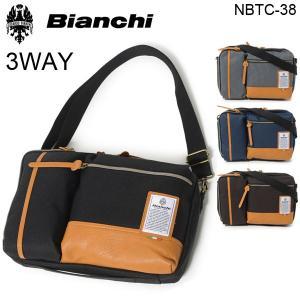 ビアンキ Bianchi DIBASE 3WAYショルダーバッグ (NBTC-38) ボディバッグ クラッチバッグ travel-goods-toko