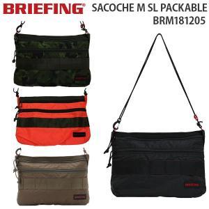BRIEFING SACOCHE M SL PACKABLE ブリーフィング サコッシュ M SL パッカブル (BRM181205)|travel-goods-toko