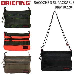 BRIEFING SACOCHE S SL PACKABLE ブリーフィング サコッシュ SL パッカブル (BRM182201)|travel-goods-toko