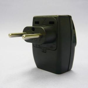 ワールドトラベルタップ Cプラグ (ヨーロッパタイプ) 海外用 電源プラグ 変換アダプター トラベル...