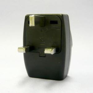 ワールドトラベルタップ BFプラグ (イギリス、香港タイプ) 海外用 電源プラグ 変換アダプター ト...