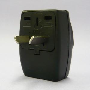 ワールドトラベルタップ Oプラグ (オーストラリアタイプ) 海外用 電源プラグ 変換アダプター トラ...