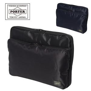 吉田カバン PORTER ポータータイム ドキュメントケース 13インチPC対応 バッグインバッグ 日本製 655-17876|travel-goods-toko