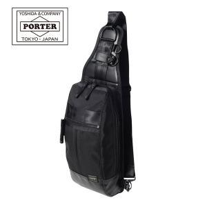 吉田カバン PORTER HEAT ONE SHOULDER BAG (703-08000) ポーター ヒート ワンショルダーバッグ ボディバッグ 日本製|travel-goods-toko