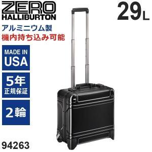 ゼロハリバートン Geo Aluminum 3.0 Trolley 17inch (29L) 94263-01 アルミニウム製 スーツケース 2輪 ブラック 機内持ち込み可能|travel-goods-toko