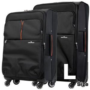 ソフト キャリーケース スーツケース キャリーバッグ 軽量 おしゃれ Lサイズ 大型 ビジネス 4輪 4003-68|travelworld
