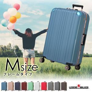 スーツケース 人気 無料受託手荷物 Mサイズ 中型 キャリー...