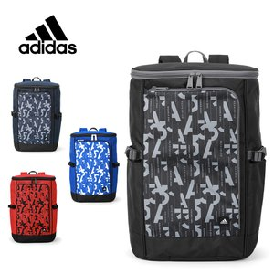 アディダス リュック 大容量 adidas リュックサック スクールバッグ スクエアリュック ボックス型 メンズ レディース 通学 高校生 中学生 ADIDAS-57877 57877|travelworld