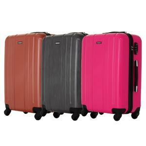 エース(ACE) スーツケース 中型 軽量 キャリーバッグ トランク Mサイズ AE-05987