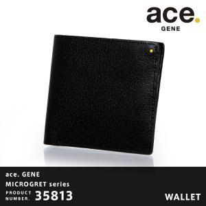 ace.GENE エースジーン MICROGRET ミクログレット 二つ折り財布  AE-35813|travelworld