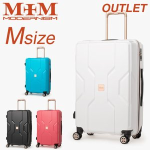 アウトレット スーツケース キャリーケース キャリーバッグ トランク 中型 軽量 Mサイズ おしゃれ...