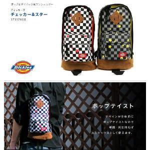 ボディバック ボディバッグ ワンショルダー ショルダーバッグ Dickies ディッキーズ DK-17337900|travelworld