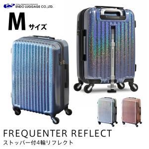 スーツケース キャリーケース キャリーバッグ 中型 軽量 Mサイズ おしゃれ 静音 エンドー鞄 ハード ファスナー 拡張 ストッパー ENDO-1-310 travelworld