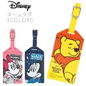 ディズニー コミック ネームタグ ミッキーマウス ミニーマウス くまのプーさん Mickey Minnie Mouse Winnie the Pooh JTB-510103|travelworld