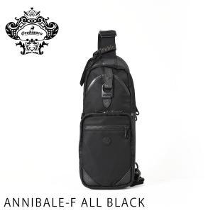 オロビアンコ OROBIANCO バッグ メンズ ボディバッグ ビジネスバッグ 鞄 かばん ANNIBALE-F ALL BLACK orobianco-92134 travelworld