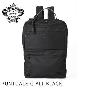 オロビアンコ OROBIANCO バッグ メンズ バックパック デイパック リュック 鞄 PC収納可能 A4 ビジネスバッグ  PUNTUALE-G ALL BLACK orobianco-92136|travelworld