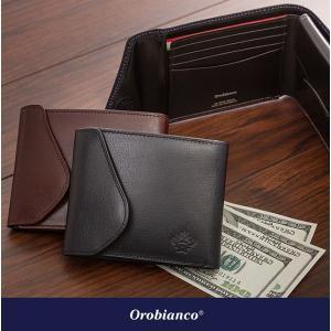 orobianco オロビアンコ 財布 F付き単束入れ メンズ 革小物 コインケース レザー H&L orobianco-ORS-062408|travelworld