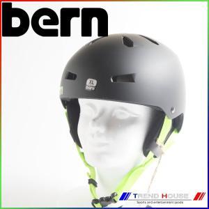 2016 バーン メイコン Macon EPS Matte Black/Black Strap-In Ear Pads XL(59-60.5cm) bern メンズ ヘルメット