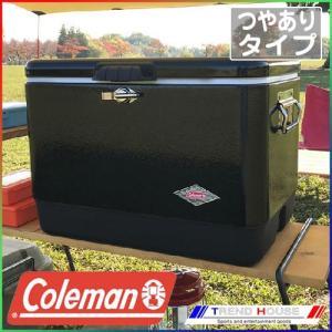 [日本未発売カラー / 在庫のみ]コールマン スチールベルトクーラー 54qt / ブラック_300...