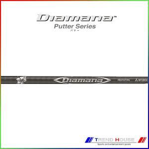 Diamana Putter シリーズは、よりゆったりとしたストロークリズムに導き、ボールを厚く押し...
