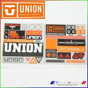 2018 ユニオン ステッカー ロゴステッカーセット Uni...