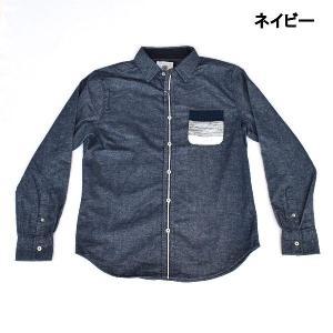 長袖 シャツ カジュアルシャツ トップス メンズファッション...