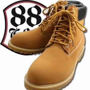 ワークブーツ ブーツ レディースシューズ レディースファッション 靴 GOD&BLESS イエローブ...