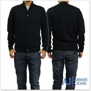 ARMANI JEANS アルマーニジーンズ メンズカーディガン 6Y6EB6 6M21Z ブラック tre-style