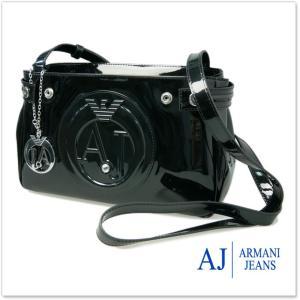 ARMANI JEANS アルマーニジーンズ レディースショルダーバッグ 922527 CC855 ブラック|tre-style