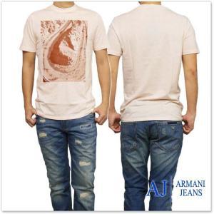 ARMANI JEANS アルマーニジーンズ メンズクルーネックTシャツ 3Y6T48 6JPFZ ...
