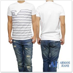 ARMANI JEANS アルマーニジーンズ メンズクルーネックTシャツ 3Y6T37 6JPRZ ...