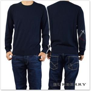 BURBERRY バーバリー メンズクルーネックセーター RICHMOND / 4020044 ネイビー tre-style