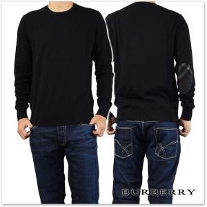 BURBERRY バーバリー メンズクルーネックセーター RICHMOND / 4020040 ブラック tre-style