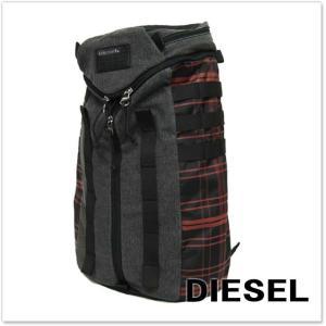 DIESEL ディーゼル バックパック/リュック DE-YANKI BACK / X03330 P0184 グレージーンズ|tre-style