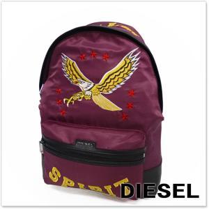 DIESEL ディーゼル バックパック M-FLYING BACK / X03534 PR520 パープル|tre-style
