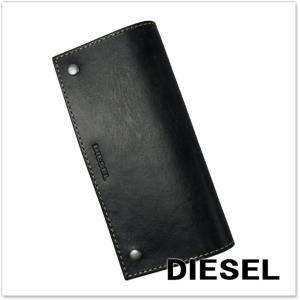 DIESEL ディーゼル メンズレザー二つ折長財布(小銭入れ付き) DJANGGO / X04737 PR080 ネイビー|tre-style