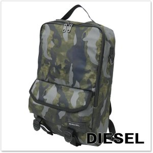 DIESEL ディーゼル バックパック/リュック F-CLOSE BACK / X04008 PR027 カモフラージュ|tre-style