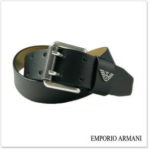 EMPORIO ARMANI エンポリオアルマーニ メンズレザーベルト Y4S079 YAQ2G ブラック /2017秋冬新作|tre-style