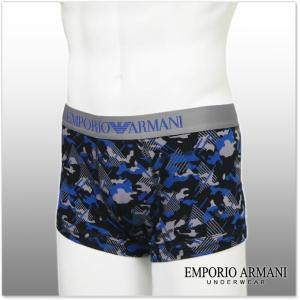 EMPORIO ARMANI UNDERWEAR エンポリオアルマーニアンダーウェア ボクサーパンツ 111389 7P526 ブラック|tre-style