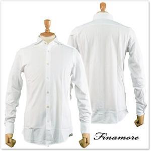 FINAMORE フィナモレ メンズカッタウェイシャツ SIMONE(シモーネ)/TORONTO 012338 ホワイト|tre-style