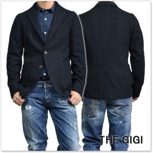 THE GIGI ザ ジジ メンズシングル2Bジャケット ANGIE G008 ネイビー|tre-style